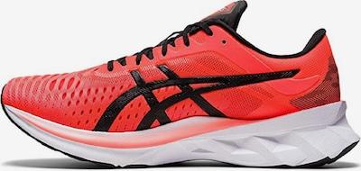 ASICS Chaussure de course en rouge / noir, Vue avec produit