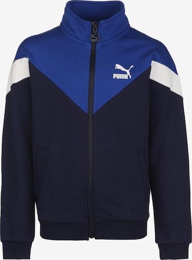 PUMA Sportjacke in nachtblau / royalblau / weiß, Produktansicht