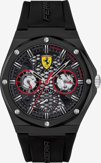 Scuderia Ferrari Uhr in gelb / anthrazit / rot / schwarz, Produktansicht