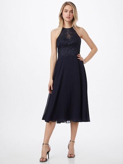 VM Vera Mont Kleid in dunkelblau, Modelansicht