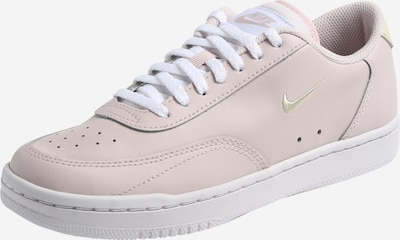 Nike Sportswear Sneakers low 'Court Vintage' in Gold / Pink / White, Item view