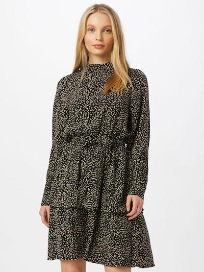 MOSS COPENHAGEN Kleid 'Willow' in ecru / schwarz, Modelansicht