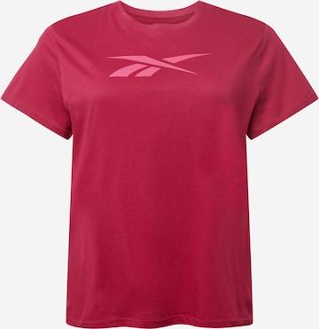 Reebok Sport T-Shirt in Rot