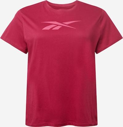 Reebok Sport T-Shirt in pink / blutrot, Produktansicht