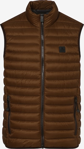 Marc O'Polo Vest in Brown