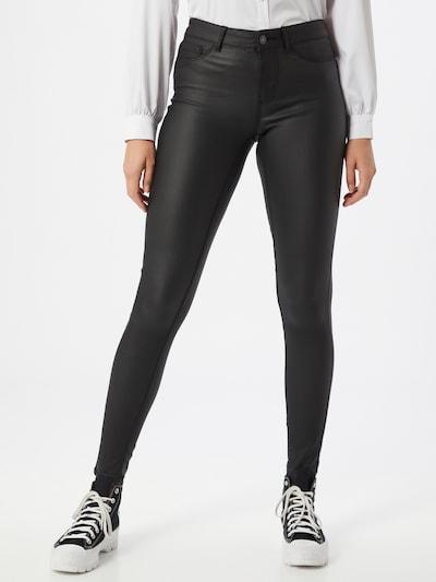 PIECES Jeans 'Paro' in schwarz, Modelansicht