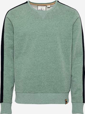 Fli Papigu Sweatshirt 'Mausebär' in Grün