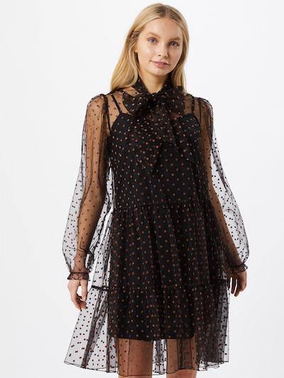 Palaidinės tipo suknelė iš Love Copenhagen , spalva - ruda / juoda: Vaizdas iš priekio