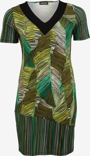 seeyou Kleid in braun / grün / schwarz, Produktansicht