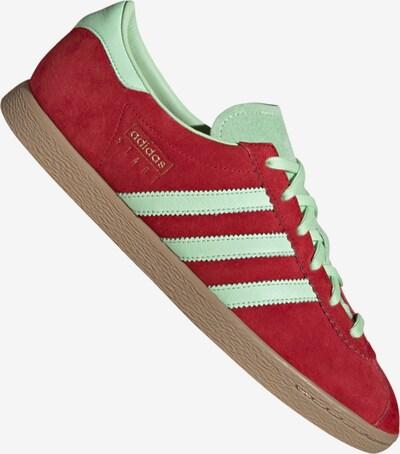 ADIDAS ORIGINALS Sneaker in rot / weiß: Frontalansicht