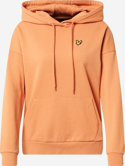 Lyle & Scott Sweatshirt in gelb / orange / schwarz, Produktansicht