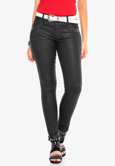 CIPO & BAXX Hose in schwarz, Modelansicht