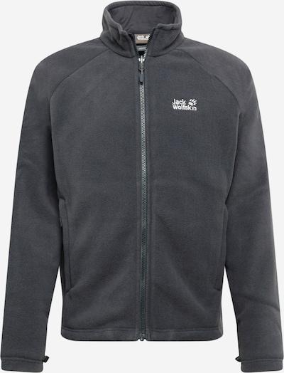 JACK WOLFSKIN Kurtka sportowa 'MOUNT ISA' w kolorze ciemnoszary / białym, Podgląd produktu