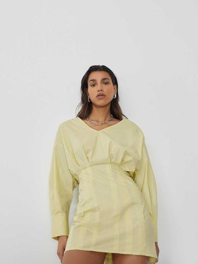 Abito 'Megan' LeGer by Lena Gercke di colore giallo / senape, Visualizzazione modelli