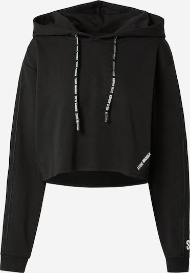 STEVE MADDEN Sweatshirt 'IKAREN' in schwarz / weiß, Produktansicht