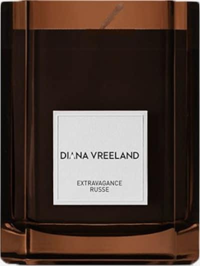 Diana Vreeland Raumduft Kerze 'Extravagance Russe' in weiß, Produktansicht