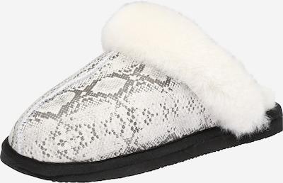 SHEPHERD OF SWEDEN Pantofle - tmavě šedá / černá / bílá, Produkt