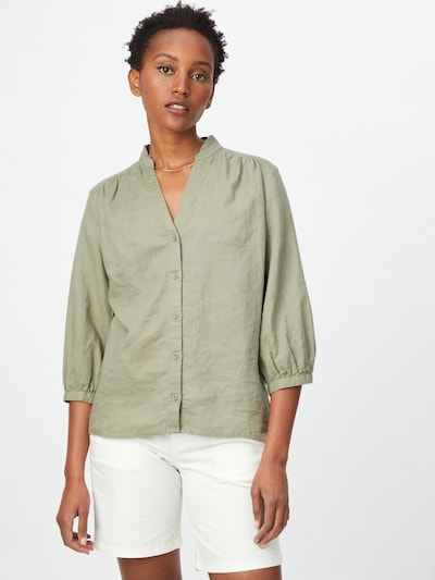 EDC BY ESPRIT Bluse in khaki, Modelansicht