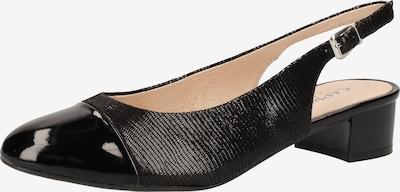 CAPRICE Slingpumps in schwarz, Produktansicht