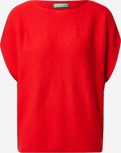Pulover UNITED COLORS OF BENETTON pe roșu, Vizualizare produs