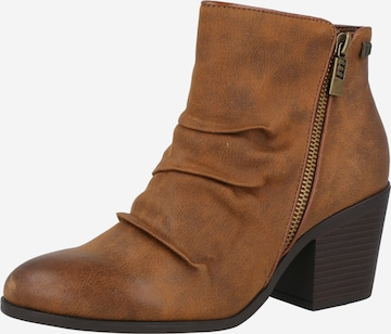 MTNG Ankle Boots 'NEW PALAS' in Braun