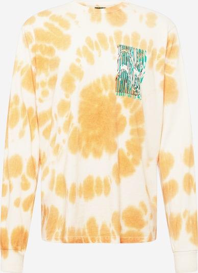 Urban Threads T-Shirt en jaune / jade / noir / blanc, Vue avec produit