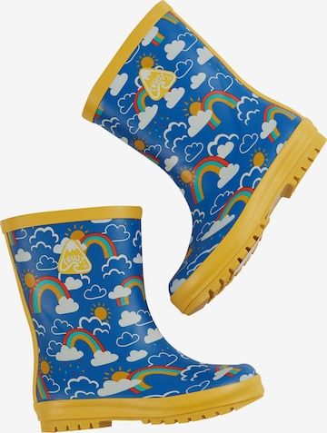 Frugi Rubber Boots 'Puddle Buster' in Blue