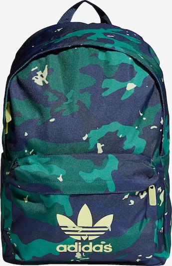 ADIDAS ORIGINALS Rugzak in de kleur Navy / Kobaltblauw / Smaragd / Jade groen, Productweergave