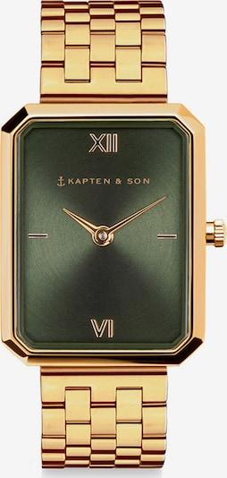 Kapten & Son Analógové hodinky 'Grace' - zlatá / zelená, Produkt