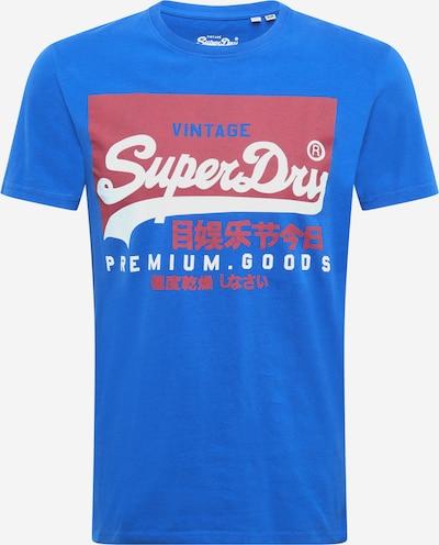 Superdry Shirt in de kleur Blauw / Rood / Wit, Productweergave