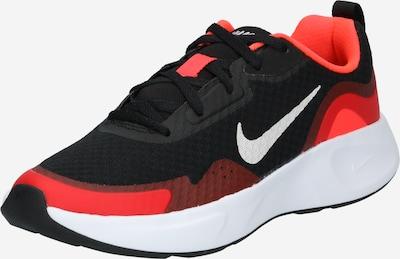 Sneaker NIKE di colore rosso chiaro / nero / bianco, Visualizzazione prodotti