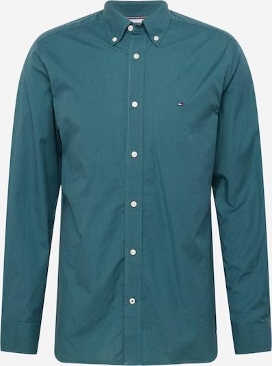 TOMMY HILFIGER Hemd in pastellblau / rot / weiß, Produktansicht