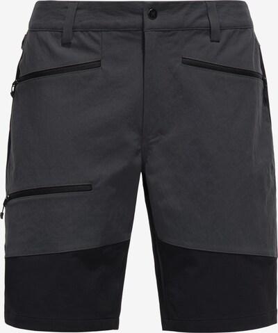 Haglöfs Pantalon outdoor 'Rugged Flex' en gris foncé / noir, Vue avec produit