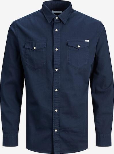 JACK & JONES Hemd in nachtblau, Produktansicht
