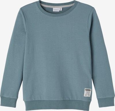 NAME IT Sweatshirt 'Honk' in taubenblau, Produktansicht