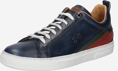 La Martina Sneaker 'Buttero ' in navy / dunkelgrün / karminrot, Produktansicht