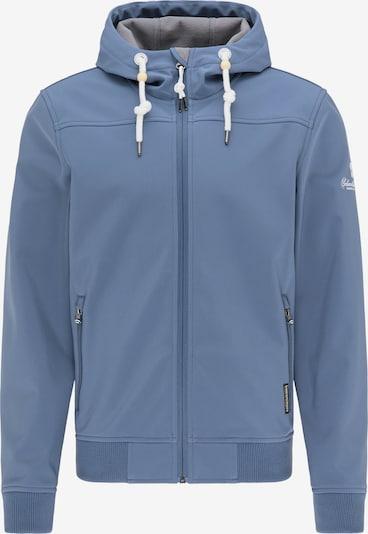 Schmuddelwedda Übergangsjacke in rauchblau / weiß, Produktansicht