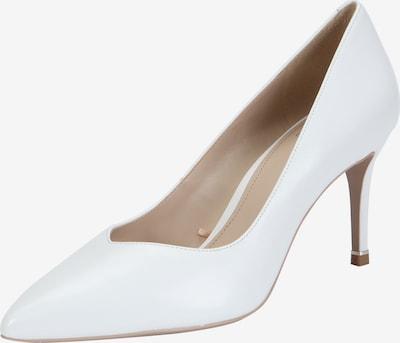 Ekonika Elegante Pumps aus glattem Leder in weiß, Produktansicht