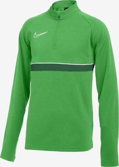 NIKE Trainingsshirt 'Academy' in grün / weiß, Produktansicht