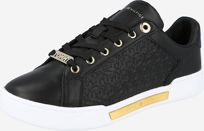 Sneaker low TOMMY HILFIGER pe auriu / negru / alb, Vizualizare produs