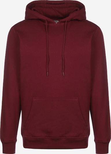 Urban Classics Sweatshirt in burgunder, Produktansicht