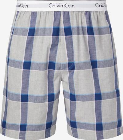 Calvin Klein Underwear Pyžamové nohavice - modrá / modrosivá / svetlomodrá / sivá, Produkt
