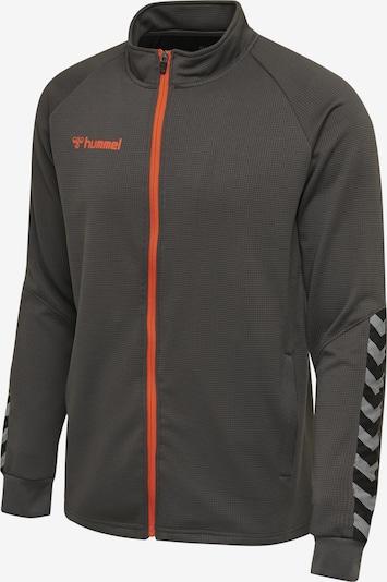 Hummel Sportjas in de kleur Grijs, Productweergave