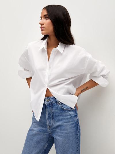 Bluză MANGO pe offwhite, Vizualizare model