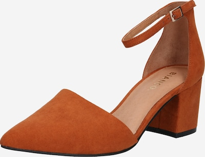 Bianco Pumps 'Divided' in Orange red, Item view