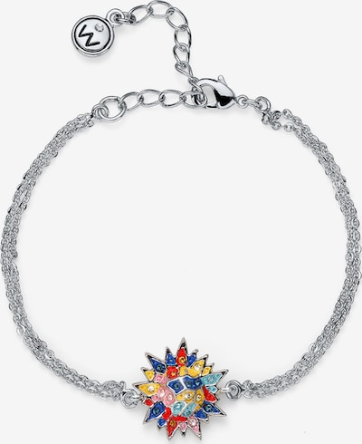 Oliver Weber Armband 'Sun' in mischfarben / silber, Produktansicht