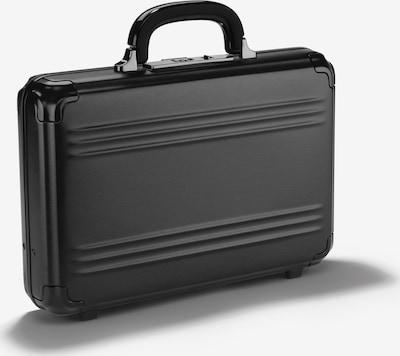 Zero Halliburton Pursuit Aluminium Aktenkoffer mit Laptopfach in schwarz, Produktansicht