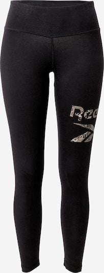 Sportinės kelnės 'Safari' iš REEBOK , spalva - smėlio / juoda, Prekių apžvalga