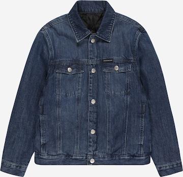 Calvin Klein Jeans Between-Season Jacket in Blue