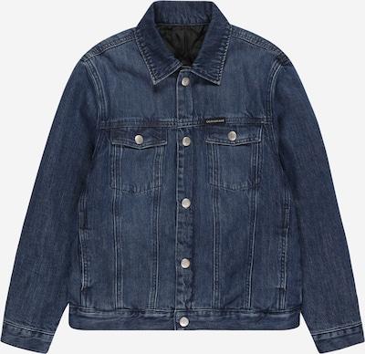 Calvin Klein Jeans Veste mi-saison en bleu nuit / bleu denim, Vue avec produit